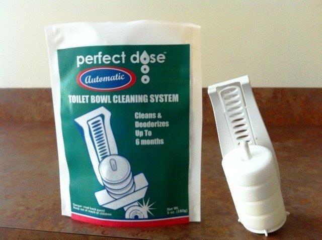 Perfect Dose Systems Toilet Bowl Cleaning System